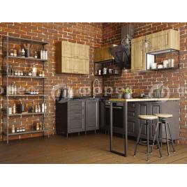 Модульная Кухня Квадро Лофт