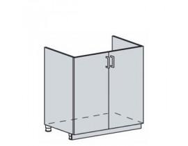 Квадро Лофт ШНМ-800 шкаф нижний под мойку (б/ст.)