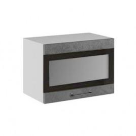 Лофт ДСВ ШВГСФ-500 шкаф навесной горизонтальный со стеклом и фотопечатью