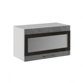 ЛОФТ ДСВ ШВГСФ-600 шкаф навесной горизонтальный со стеклом и фотопечатью