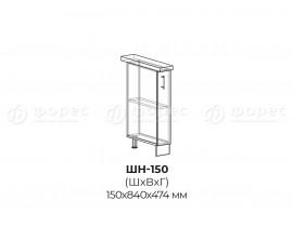 Квадро Лофт ШН-150 шкаф нижний