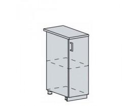 Квадро Лофт ШН-300 шкаф нижний