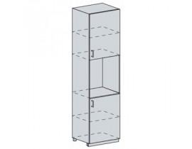 Квадро Лофт ШПВ-602 шкаф пенал высокий