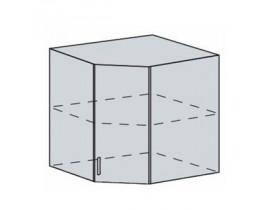 Квадро Лофт ШВУ-590 шкаф верхний угловой