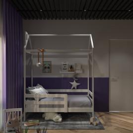 Детская кровать домик  Sweet house 160х80