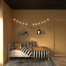 Детская  кровать из массива Light 180х90