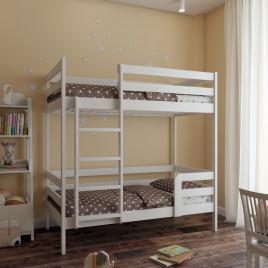 Двух ярусная детская кровать из массива Sweetness 200х90