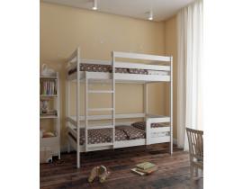 Двух ярусная детская кровать из массива Sweetness 160х80