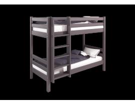 Вариант 9 Двухъярусная кровать Соня Лаванда с прямой лестницей