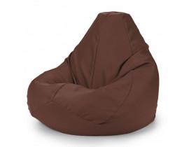 Кресло мешок груша синий, фиолетовый, коричневый