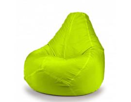 Кресло мешок груша зеленый, лайм