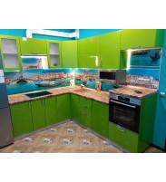 Кухня олива зеленая