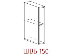 Шкаф верхний Бутылочница ШВБ 150
