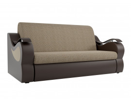 Прямой диван Меркурий корфу 02 эко кожа коричневый