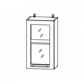 ЛОФТ ДСВ ШВС-400 шкаф навесной со стеклом