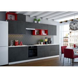 Модульная кухня Техно, композиция 3