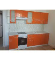 Кухня Ксюша оранж