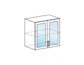 шкаф верхний со стеклом 800 ШВС800