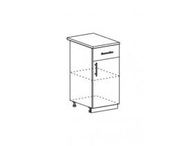 шкаф нижний с 1 ящиком 400 ШН1Я400