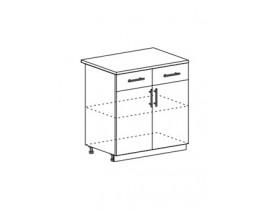 шкаф нижний с 1 ящиком 800 ШН1Я800