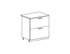 шкаф нижний с 2 ящикми 800 ШН2Я800