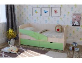 Односпальная кровать для детской комнаты Дельфин-2 1,4 м