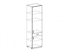 Кухня Ницца шкаф пенал  с ящиком   600(м)