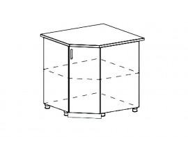 Кухня Ницца шкаф нижний угловой 890 мм