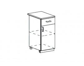 Модульная Кухня Ницца шкаф нижний с ящиком 400 мм