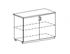 Модульная Кухня Ницца шкаф нижний 1200 мм