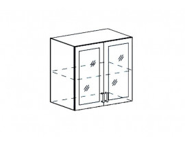 Модульная Кухня Ницца шкаф верхний ШВС 800