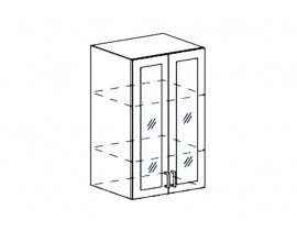 Модульная Кухня Ницца шкаф верхний ШВС 600