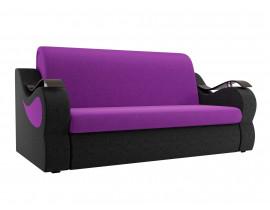 Диван Меркурий  вельвет фиолетовый черный 1600