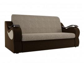 Прямой диван Меркурий корфу 02 вельвет коричневый 1600
