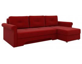 Угловой диван Гранд - Красный