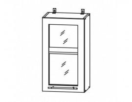 ГРАНД ШВС-400 шкаф навесной со стеклом