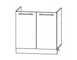 ГРАНД ШНМ-800 шкаф нижний для мойки