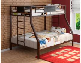 Двухъярусная кровать Гранада Коричневый