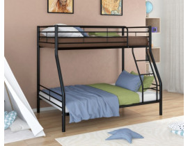 Двухъярусная кровать Гранада - 2 Черный