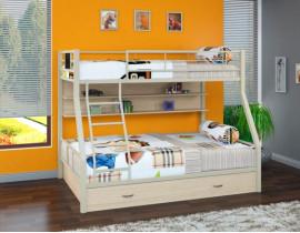 Двухъярусная кровать Гранада - 1 ПЯ Бежевый
