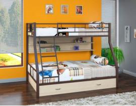 Двухъярусная кровать Гранада - 1 ПЯ Коричневый