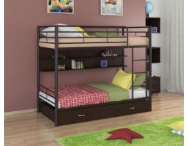 Двухъярусная кровать Севилья - 3 ПЯ Коричневый