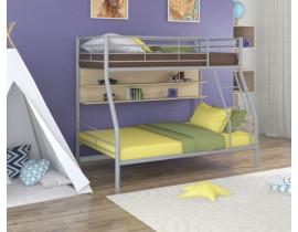 Двухъярусная кровать Гранада - 2 П Серый