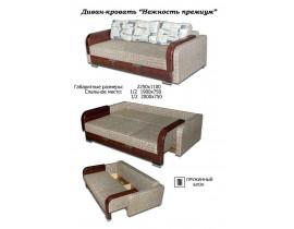 Диван-кровать Нежность премиум