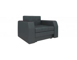 Кресло кровать Атланта - Эко-кожа Черный