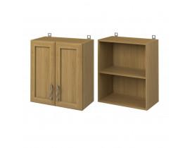 Шкаф настенный 2х дверный (600) (под посудосушитель) СОФИЯ
