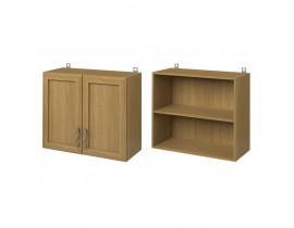 Шкаф настенный 2х дверный (800) (под посудосушитель) СОФИЯ