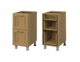 Стол кухонный (400) с выдвижными ящиками (б/ст) СОФИЯ