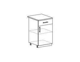 Шкаф нижний с 1 ящиком ШН1Я 500