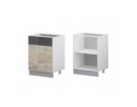 Стол кухонный 1 дверный (600) (б/ст) ЛОФТ